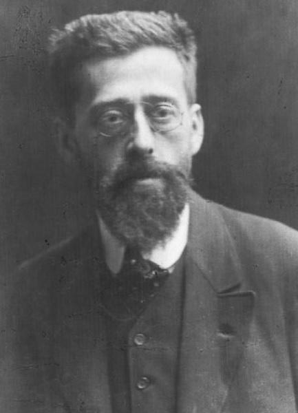 Ю.О. Цедербаум (Мартов), лидер меньшевиков. Париж, начало ХХ в.