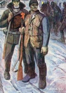 Буря Михаил Афанасьевич (Россия, 1924-1997) «1917 год»