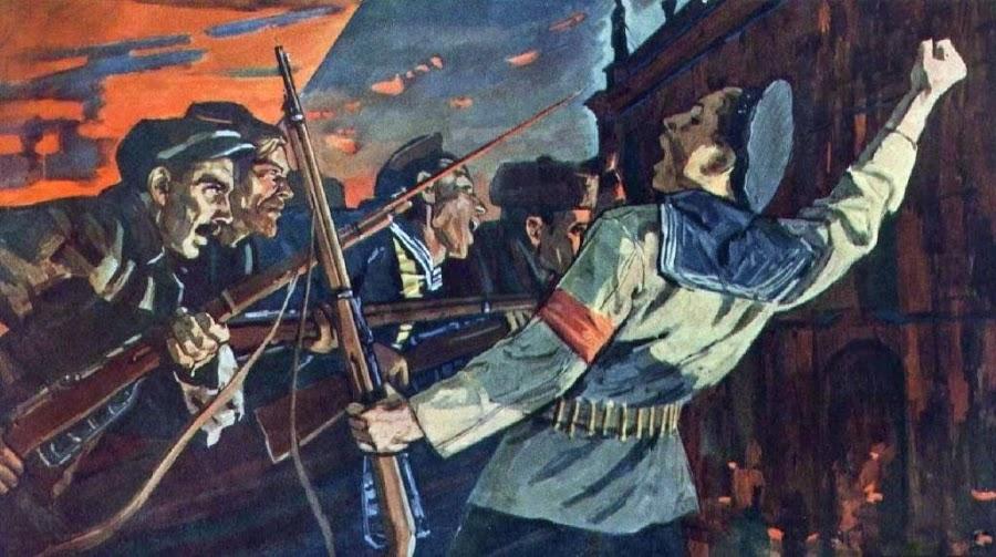 Рейнер Юрий (Георгий) Петрович (Россия, 1911-1973) «За Советскую власть»