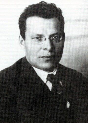 Ян Эрнестович Рудзутак. Фото на сайте Википедия