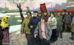 Васильев Анатолий Ильич (Россия, 1917-1994) «На демонстрацию»