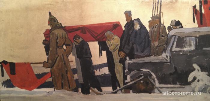 Папикян Альберт Степанович - Похороны В.И. Ленина