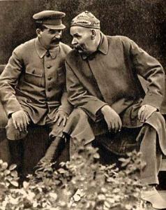 gorky-stalin