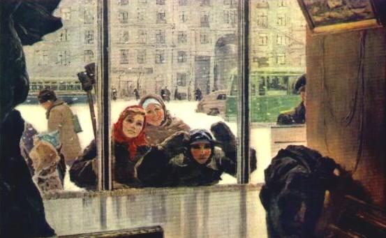 И. Шевандронова. Выставка скоро откроется.