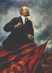 А. Герасимов. В.И.Ленин на трибуне. 1930