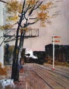 Г. Нисский. Осень. Семафоры. 1932