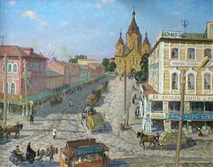 Соснин Р.А.Собор Александра Невского на Стрелке