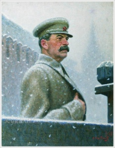 Лактионов Александр Иванович (Россия, 1910-1972) «Речь товарища Сталина 7 ноября 1941 года» 1942