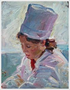 Шолохов Борис Анатольевич (Россия, 1919–2003) «Доктор» 1950-е