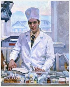 Страхов Андрей Александрович (Россия, 1925-1990) «Врач»