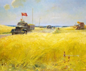 Каррус Виктор Александрович (1913-1991) «Хлеб государству» 1953