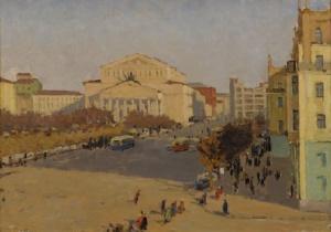 Б. Пыриков. Большой театр. 1950