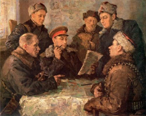 """Ф. А. Модоров """"В штабе партизанского движения"""""""