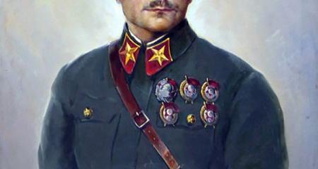 Портрет К. Ворошилова. Художник: Соколов С.Ф.  1936.