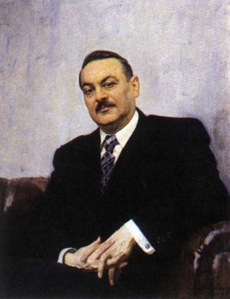 Портрет А.А. Жданова 1947 г. Художник Ефанов