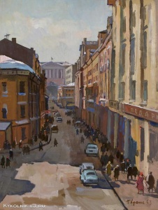 Храпак Георгий Васильевич (1922 - 1974) «Столешников переулок»