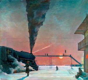 1964 Нисский Георгий Григорьевич (Россия, 1903-1987) «В пути»