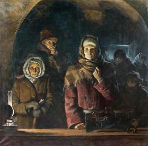 Никита Цуцин. Блокадный Ленинград.