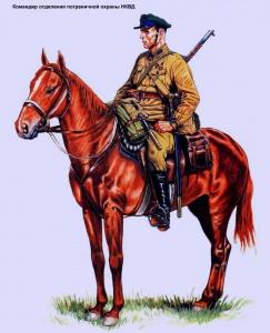 Командир отделения пограничной охраны НКВД (1934 - 37 г.г.) - Андрей Каращук