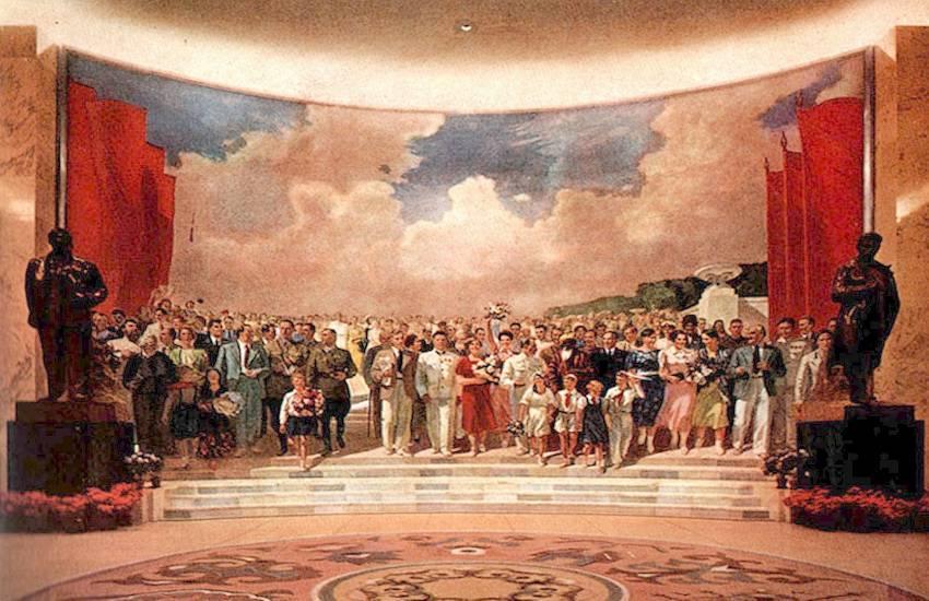 В. Ефанов. Знатные люди Страны Советов. 1939