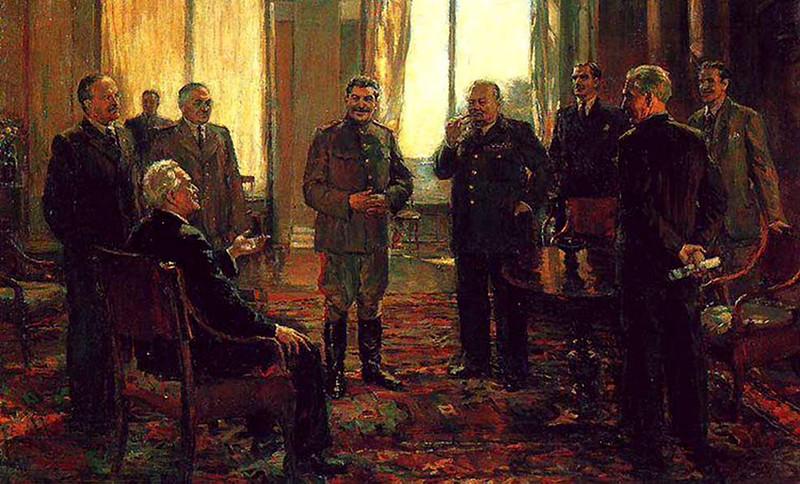 Д. Налбандян. Крымская конференция. 1945