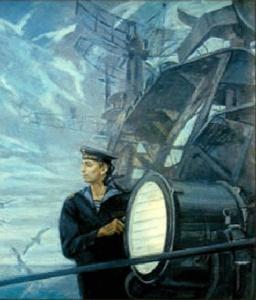 А. Ананьев. Сигнальщик. 1986