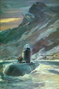 Ю. Усыпенко. Возвращение с учений. 1985