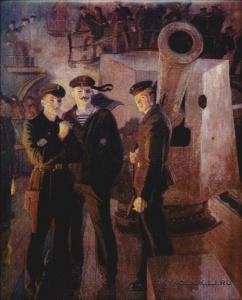 Левитин Анатолий Павлович (Россия, 1922) «Аврора»