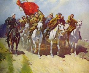 Трубачи Первой конной. М. Б.ГРЕКОВ