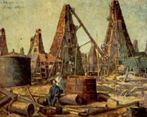Ф.А.Модоров. Нефтяные промыслы. Баку.(1930)