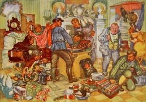 Борьба со спекуляцией / [б.х.]. – М.: АХРР Тип. «Рабочей Газеты», [1927].