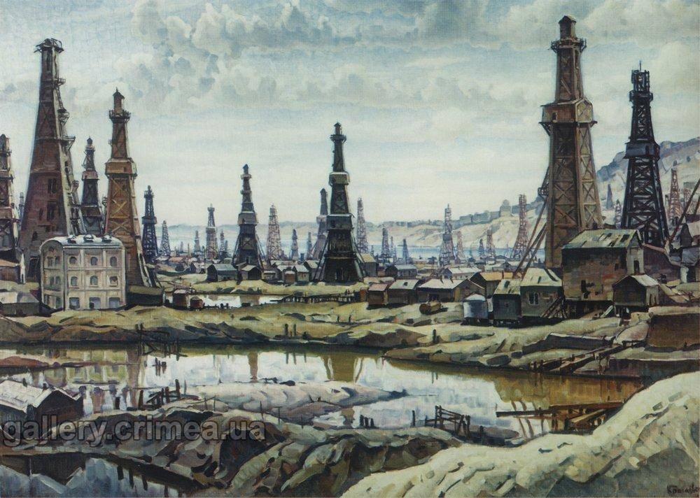 Художник В.К.Богаевский. Биби-Эйбат (1932)