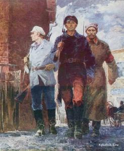 Ефименко Виктор Романович (Россия, 1952) «Патруль» 1977