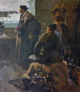 Гаев Геннадий Петрович (1918-1990) «Путевые обходчики»