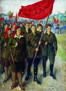 Международный Юношеский день - Иван Куликов (1929 год)