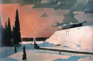 Перед Москвой. Февраль. 1957.