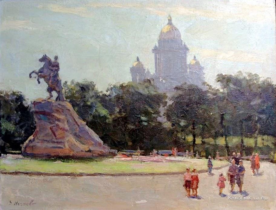Нечаев Василий Андреевич (Россия, 1926-1980) «Ленинград»