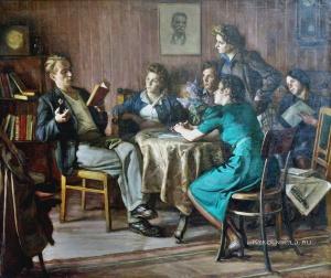Волков Валентин Викторович (1881-1964) «Вузовцы» 1949