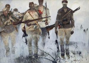 «Солдаты», Владимир Рутштейн