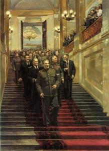 Торжественный прием в Кремле 24 мая 1945. Налбандян Дмитрий Аркадьевич (1906 — 1993)