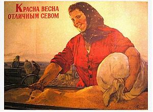 Н. Терещенко Плакат. 1954.