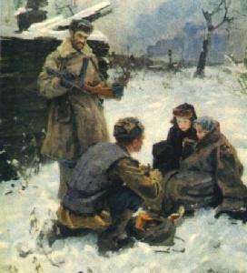 Ф. Савостьянов. Душа солдата