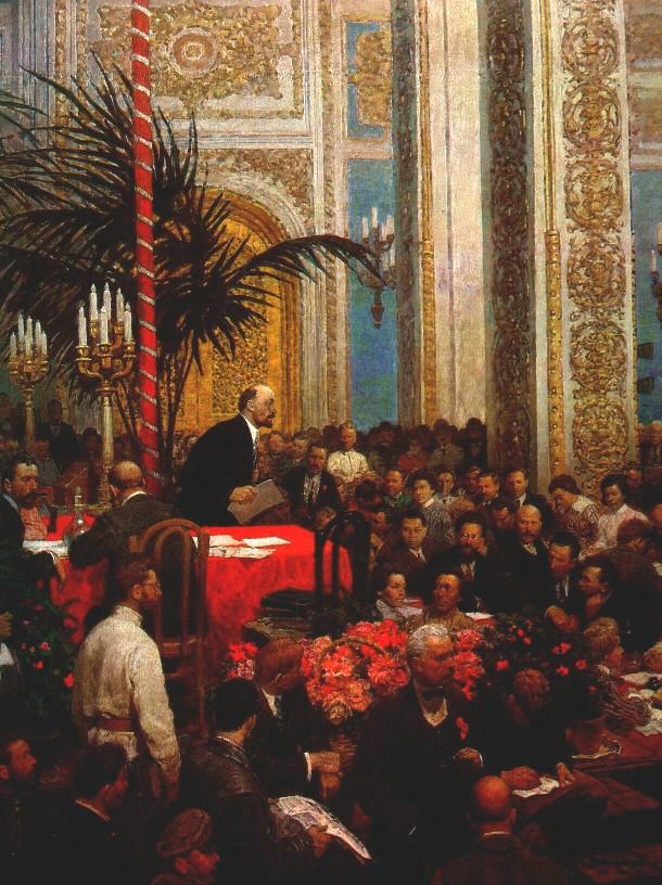 Л. Котляров. III Конгресс Коминтерна. 1984