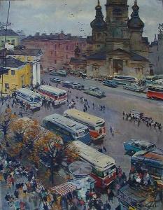 М. Конеев. Ленинград. 1960