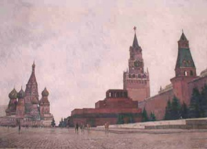 В. Беляев. Красная площадь. 1973