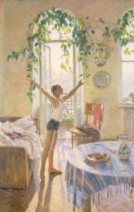 Татьяна Яблонская. «Утро»