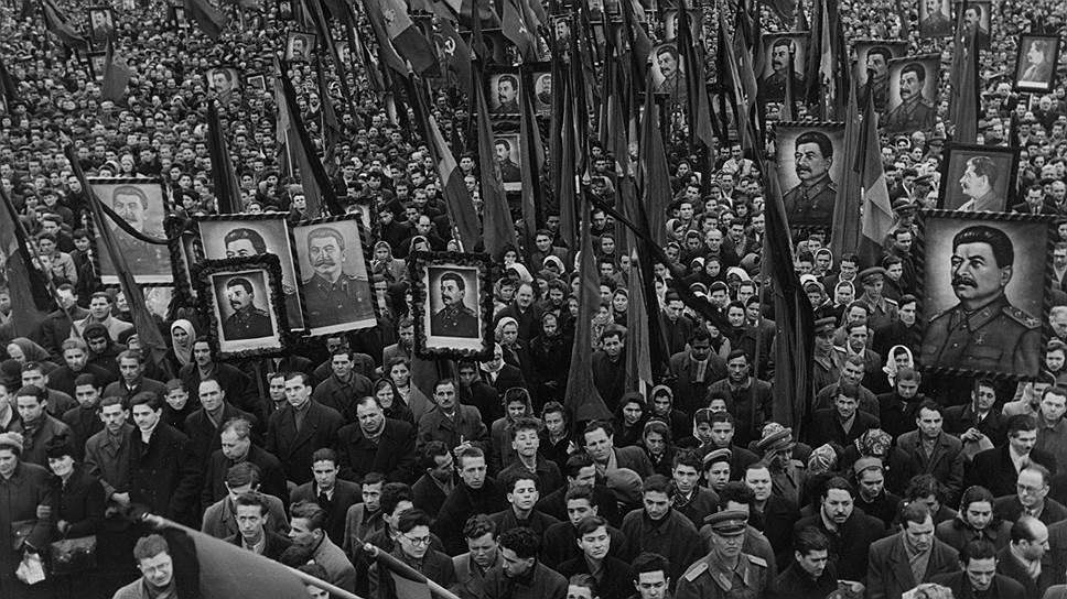 ВЕЛИКОЕ ПРОЩАНИЕ С ВЕЛИКИМ ЧЕЛОВЕКОМ ГЕНЕРАЛИССИМУСОМ И.В. СТАЛИНЫМ. 1953 г.