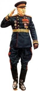 Генерал армии 1945. Униформа сухопутных войск РККА во Второй мировой