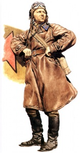 Лейтенант ВВС 1941. Униформа ВВС РККА во Второй мировой