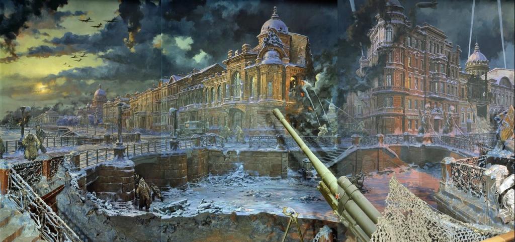Диарама «Блокада Ленинграда». Корнеев Е.А